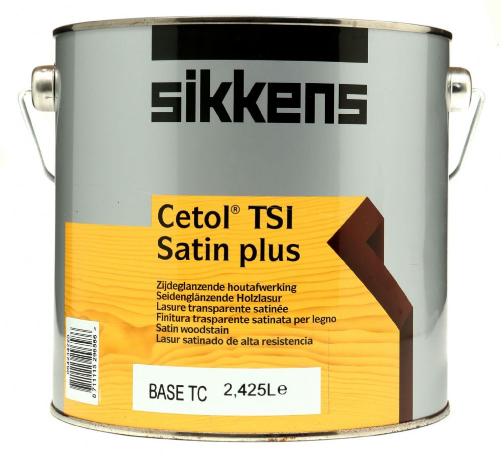 Sikkens Cetol TSI Satin Plus Custom Mixed Colours